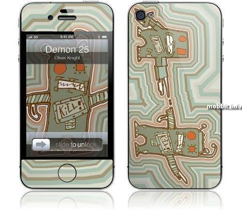 GelaSkins для iPhone 4