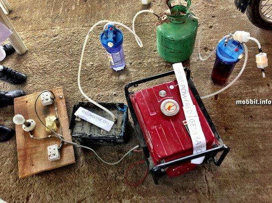 Электрогенератор, работающий на моче