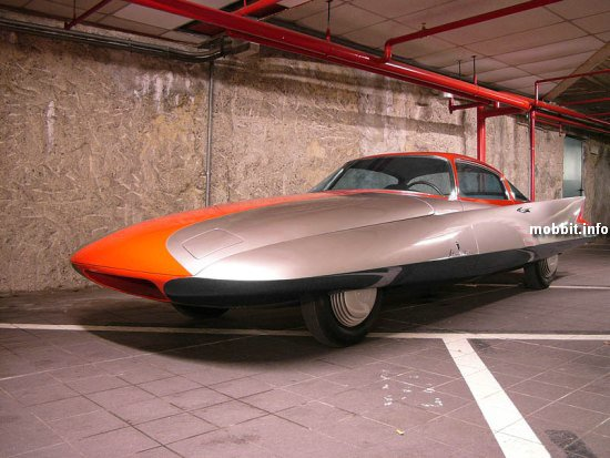 Ghia Gilda Streamline X Coupe