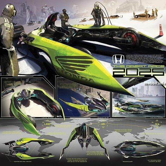 гоночный суперкар Honda