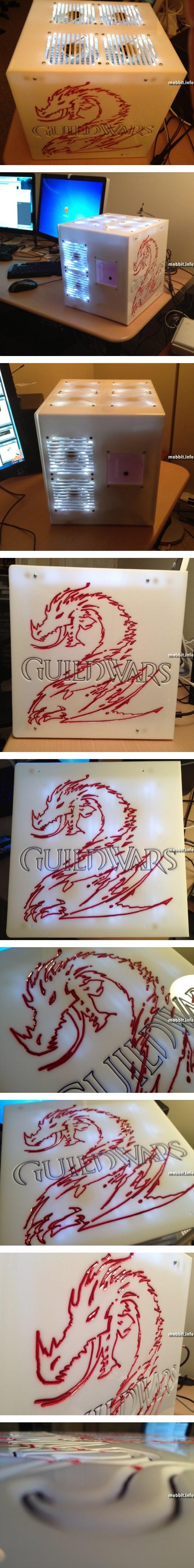 Моддинг компьютера в стиле Guild Wars 2