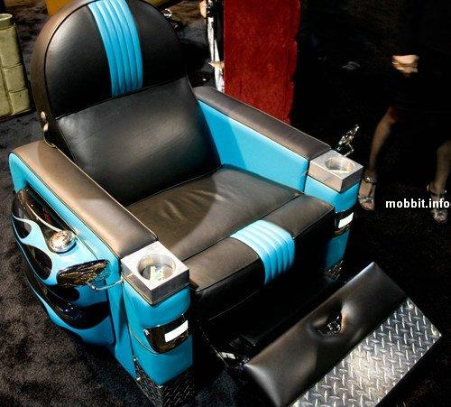 Кресло в стиле Harley-Davidson