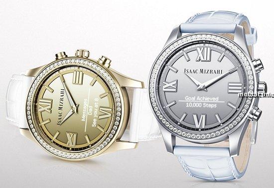 «Умные» женские часы с прозрачным дисплеем от HP