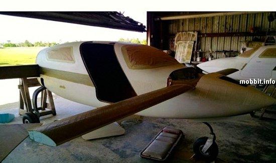 Первый в мире самолет из конопли