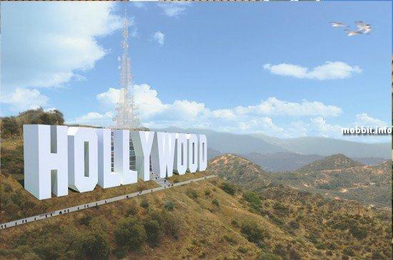 Гостиница в надписи Hollywood