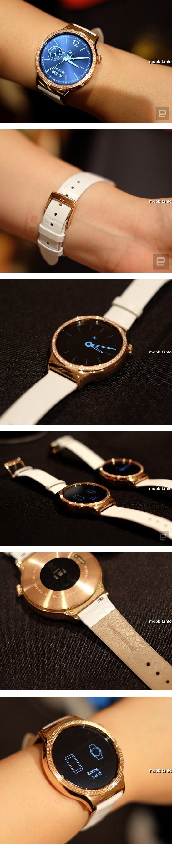 Huawei Watch Elegant и Watch Jewel
