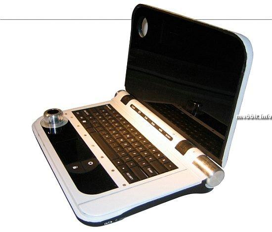 концептуальный ноутбук IBM Security laptop