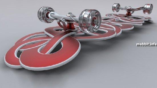 Резной скейтборд