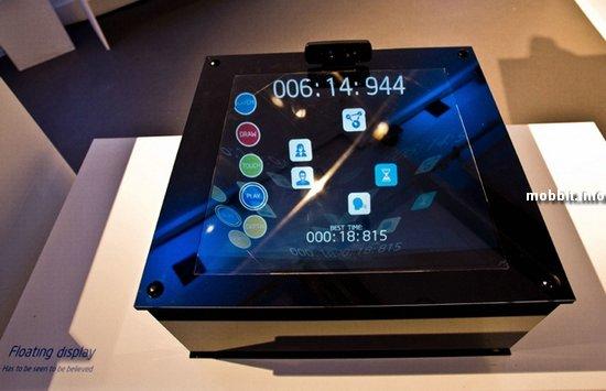 Концепт «парящего» дисплея от Intel