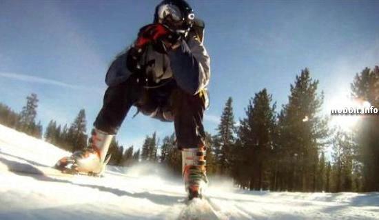 Реактивные лыжи