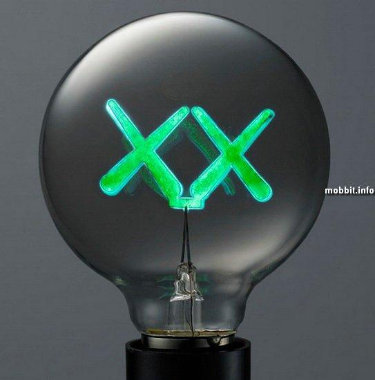 Необычные дизайнерские лампочки