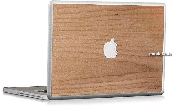Деревянная отделка для MacBook от компании KARVT