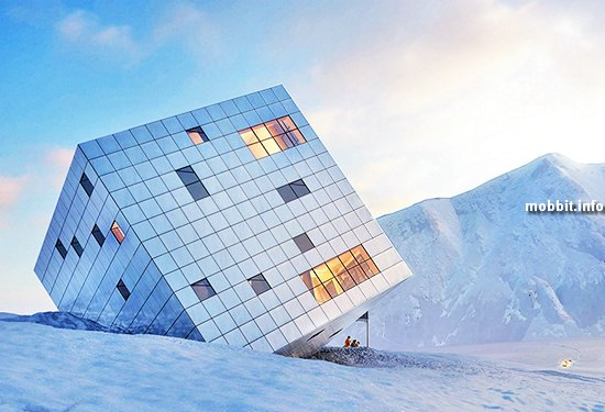 Необычный горный отель от Atelier 8000
