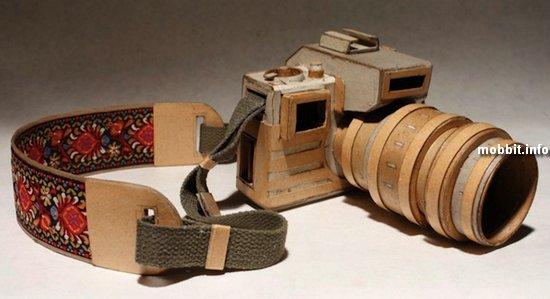 Удивительные картонные камеры