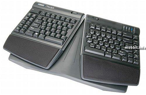 Эргономичные аксессуары для эргономичной клавиатуры Kinesis Solo.