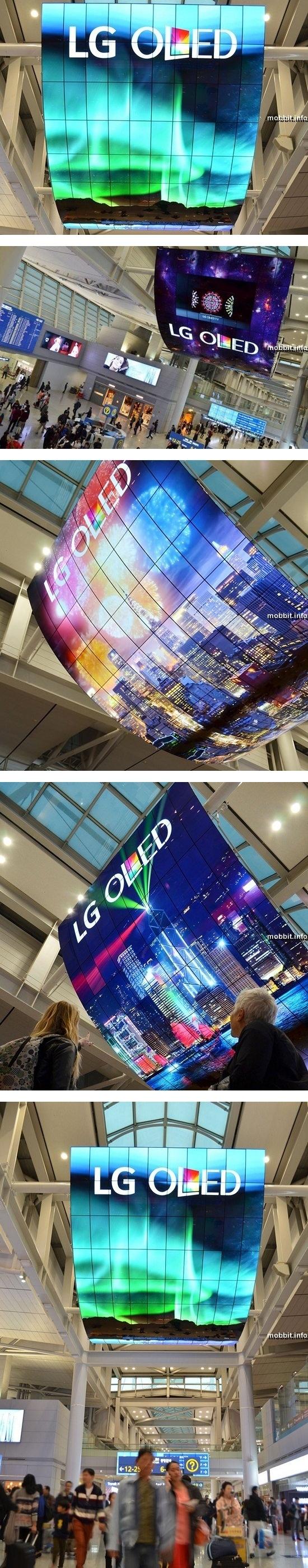 Самая большая в мире OLED-панель от LG