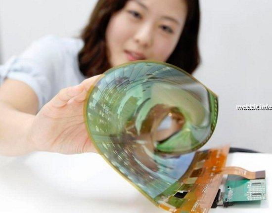 18-дюймовый OLED-дисплей LG сворачивается в рулон