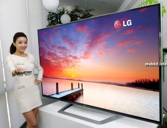 84-дюймовый телевизор LG 3D UD