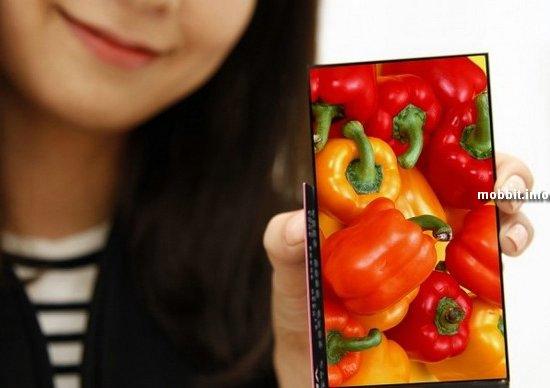 Дисплей для смартфонов с рамками шириной 0, 7 мм от LG