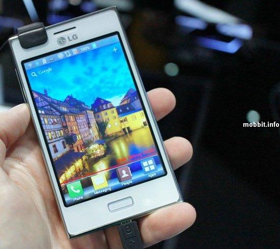 Новые смартфоны LG из серии Optimus L