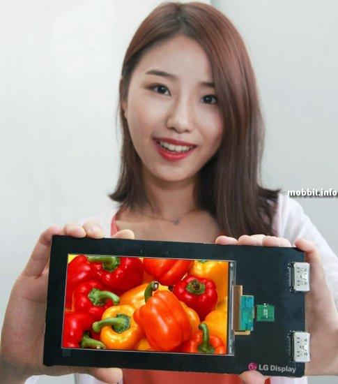 Дисплей для смартфонов с разрешением 2560 x 1440