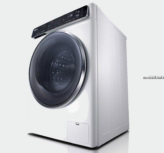 Стиральная машина с NFC от LG