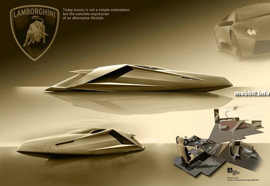 Концептуальная яхта Lamborghini