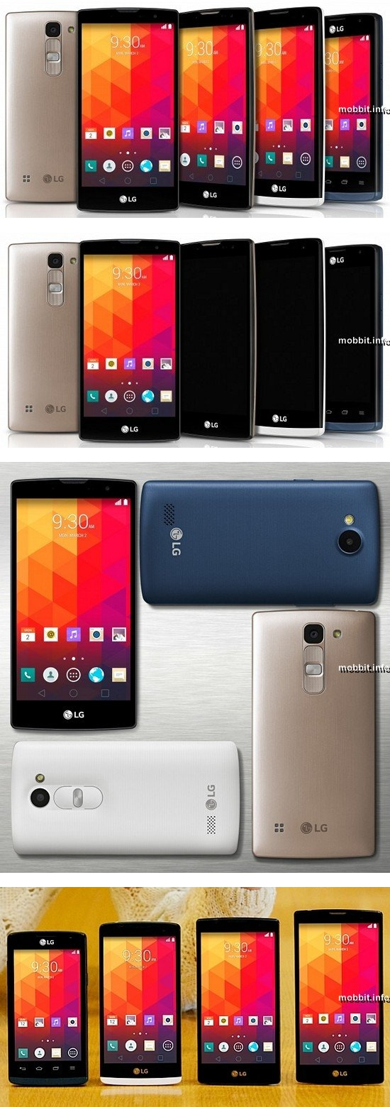 LG Magna, LG Spirit, LG Leon и LG Joy