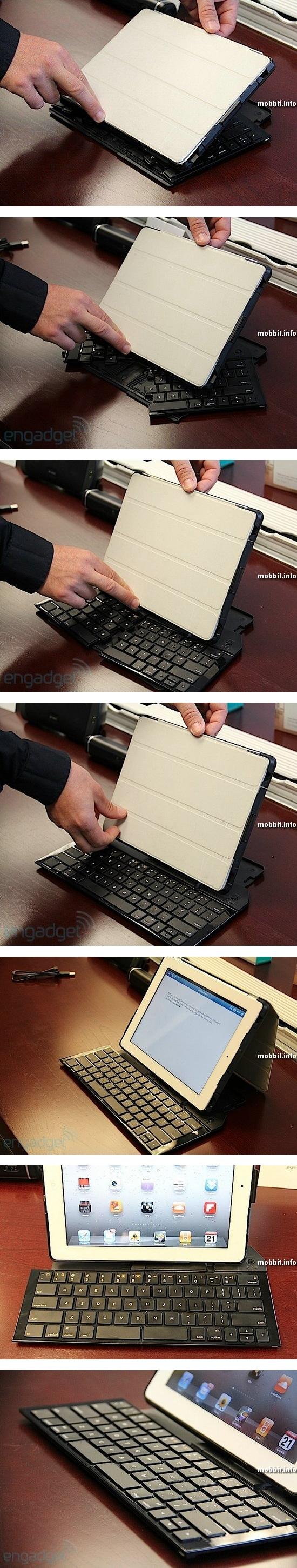 Складная клавиатура Logitech для iPad