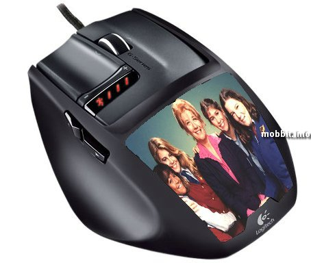 G9 Laser Mouse ID Grip