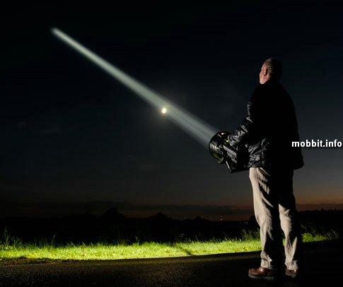 Maxablaster - ну очень яркий самодельный фонарик.