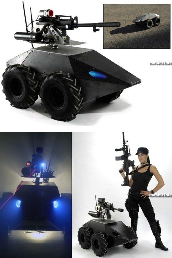 Mega Hurtz Tactical Robot