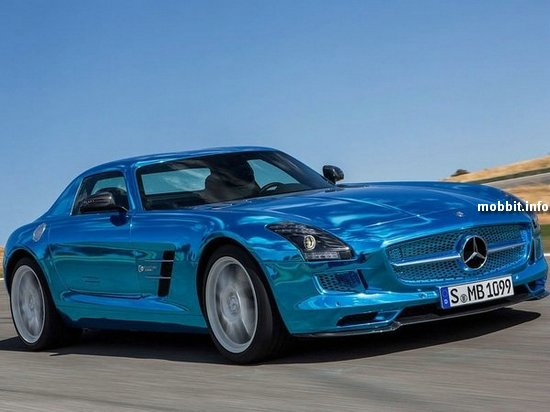 SLS AMG Coupe Electric Drive