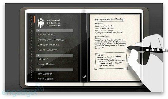 "Microsoft Courier - ""цифровой журнал"""