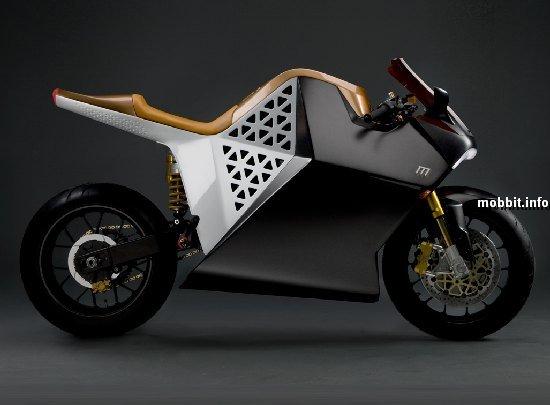электрический мотоцикл от компании mission motors