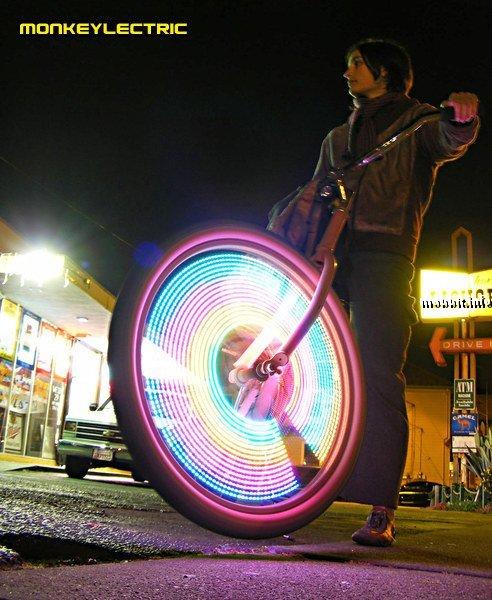 My WishList Подсветка колёс велосипеда.