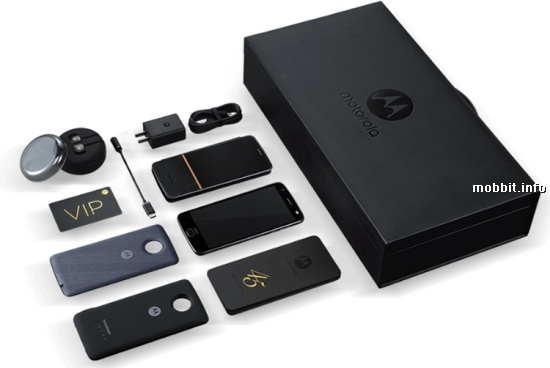 Moto Z 2018 Kingsman VIP Special Edition