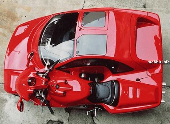 Мотоцикл+автомобиль