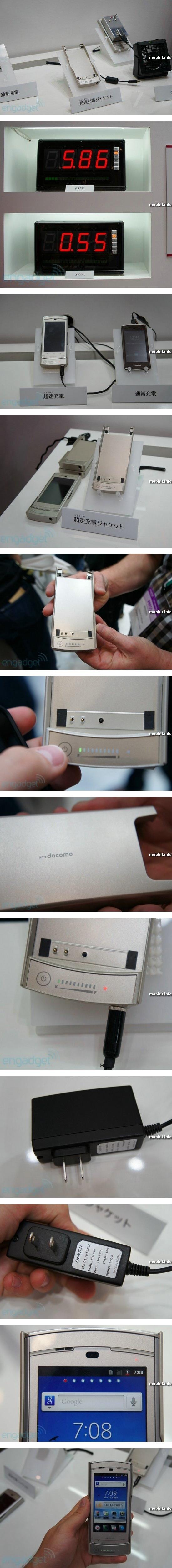 Батарея для смартфона, которая заряжается за 10 минут