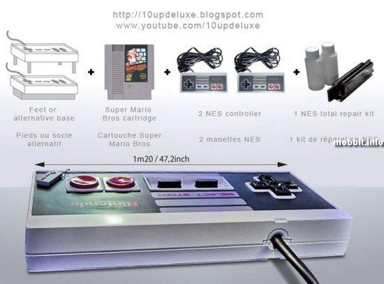 Столик в виде контроллера NES