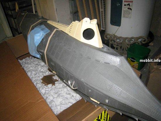 Стимпанк-субмарина Nautilus