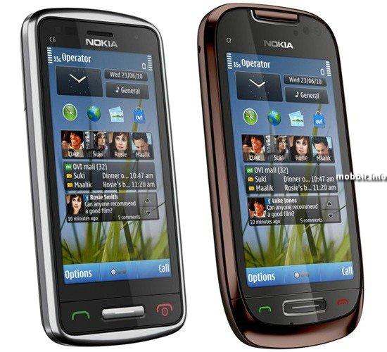 Nokia C6 и C7