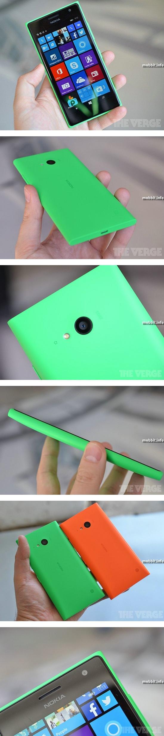 Nokia Lumia 730 и Lumia 735