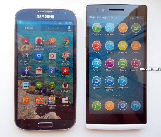Samsung Galaxy S4 vs. OPPO Find 5