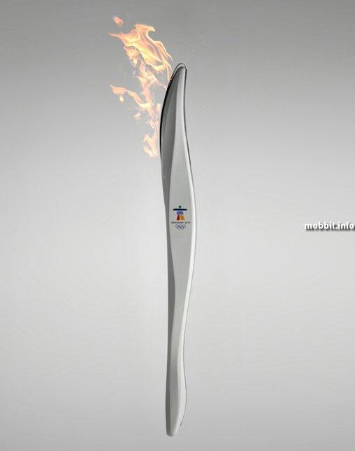 Олимпийский факел 2010