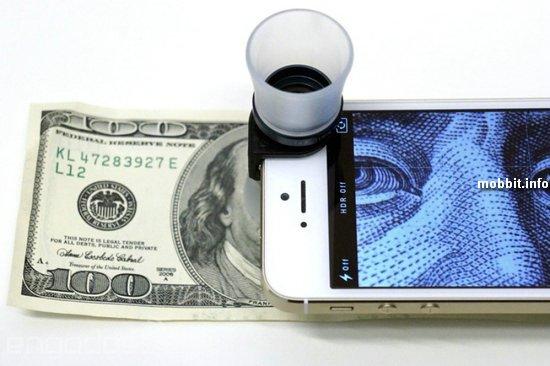 Макрообъективы 3-в-1 для iPhone от Olloclip
