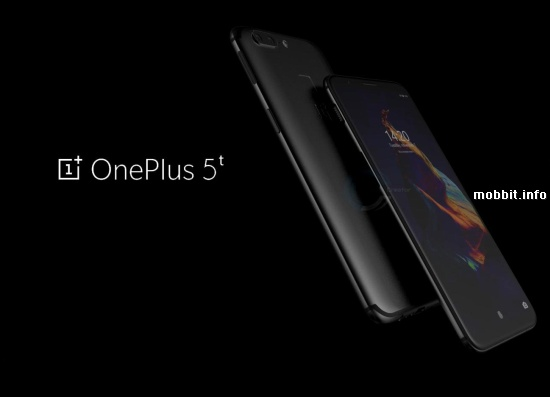OnePlus 5T Render