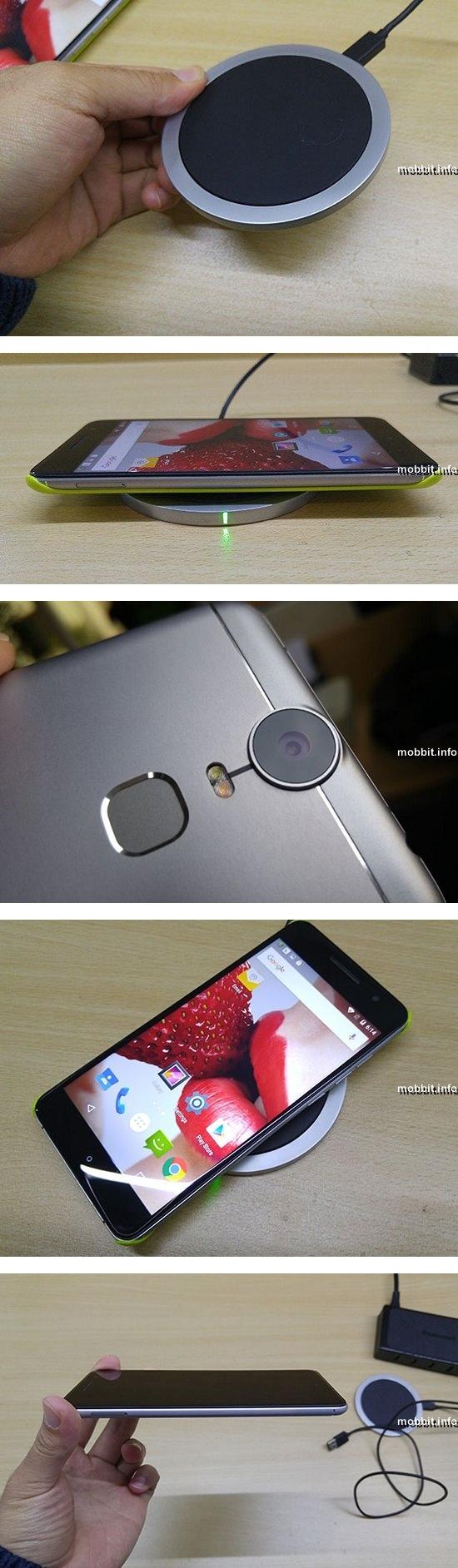 Смартфон Oukitel с поддержкой беспроводной зарядки
