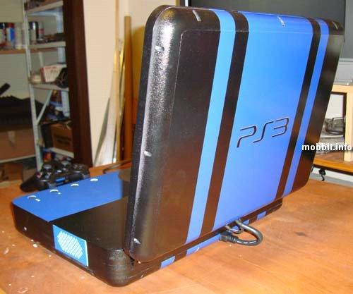 Ноутбук из консоли  PS3 Slim