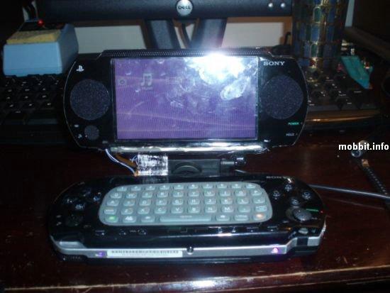 ноутбук из PSP